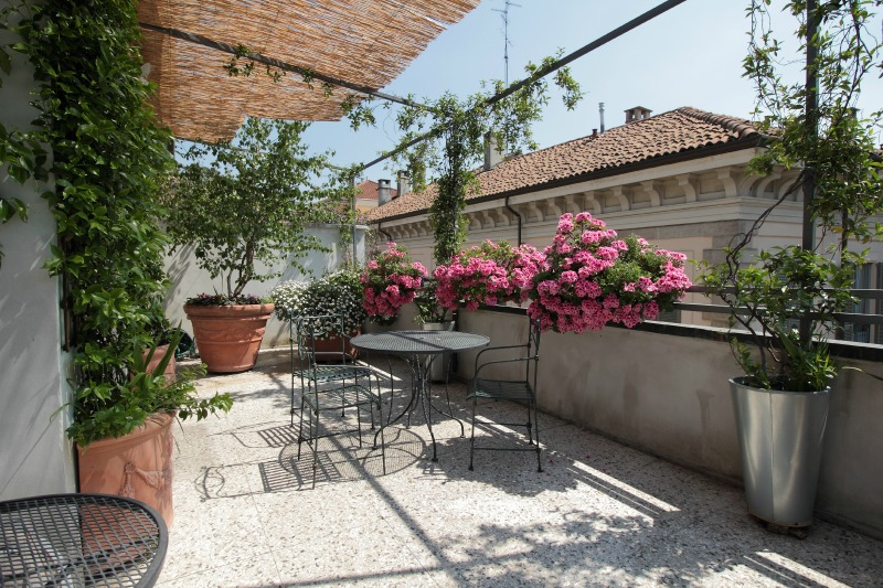 Antica Locanda dei Mercanti - terrace room